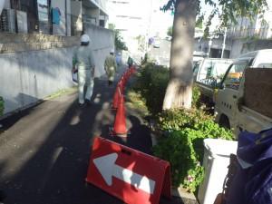 5歩道規制状況