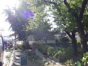 台風 平田公園